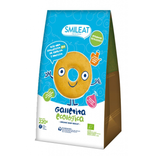 GALLETITAS INFANTILES ECOLOGICAS SMILEAT