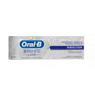 ORAL B 3DWHITE LUXE PROTECCION DEL ESMALTE DENT 75 ML