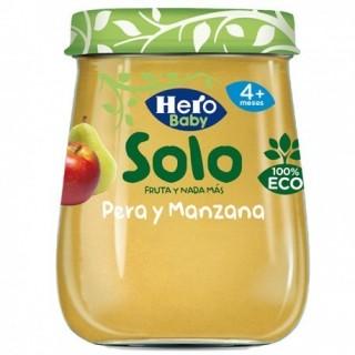 HERO BABY SOLO PERA Y MANZANA 120 G