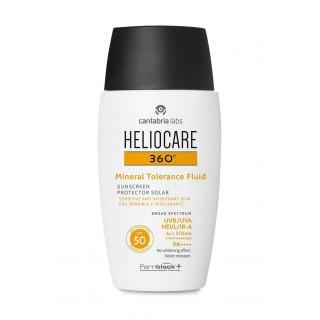 HELIOCARE 360¦ SPF 50 MINERAL TOLERANCE FLUID PR 50 ML