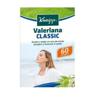 KNEIPP VALERIANA CLASSIC 60 GRAGEAS HERBALES