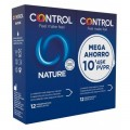 CONTROL NATURE PRESERVATIVOS PACK MEGAPRECIO 12+12 PRESERVATIVOS
