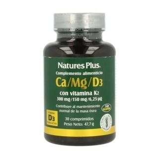 NATURESPLUS CA/ MG/ D3 30 COMPRIMIDOS