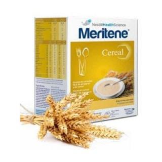 MERITENE CEREAL 8 CEREALES CON MIEL 300 G 2 BOLSAS