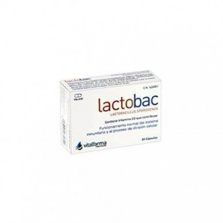 LACTOBAC 10 CAPS