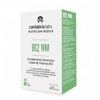 B12 NM 20 CAPSULAS NUTRICIÓN MÉDICA