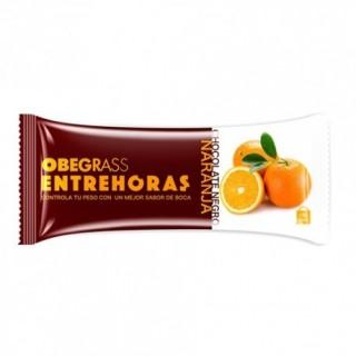 BARRITAS OBEGRASS ENTREHORAS CHOCOLATE NEGRO/NARANJA
