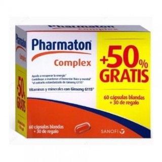 PHARMATON COMPLEX 90 CAPSULAS PACK PROMOCIONAL